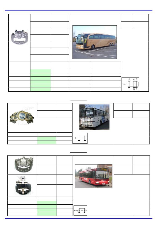 pinze freni per veicoli Irisbus