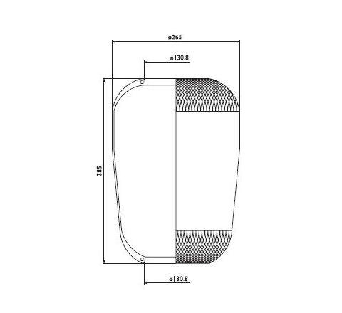 Membrana Volvo 1612455
