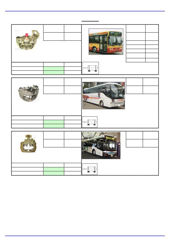 pinze freno bus Volvo