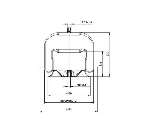 Diapress Mercedes SA520177C