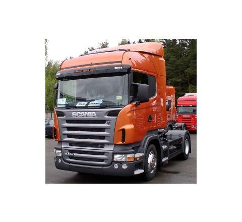 spoiler Scania R tetto medio + bandelle