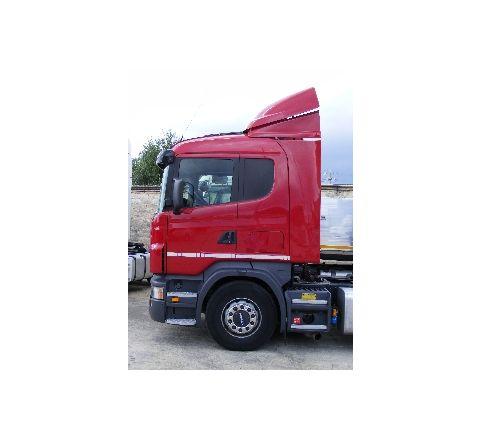 spoiler Scania R tetto basso + bandelle