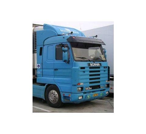 spoiler Scania 142 143 tetto alto + bandelle